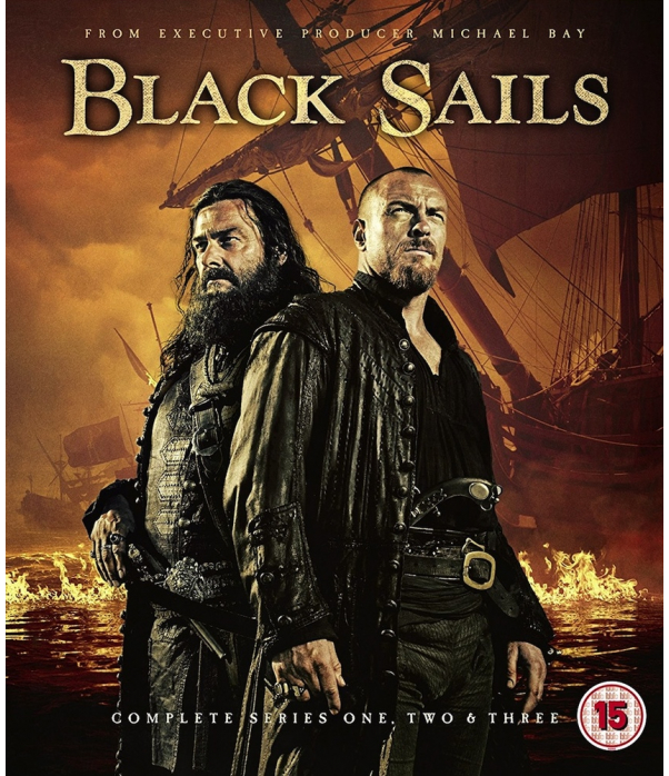 Black Sails Seasons 1 to 3 Blu-Ray