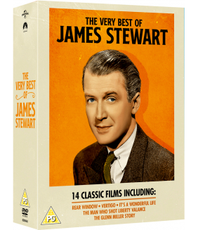 The Very Best James Stewart Collection (14 Films) DVD