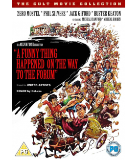 A Funny Thing Happened On The Way To The Forum DVD