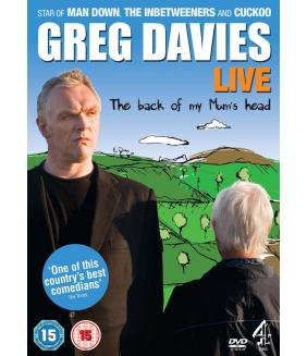 Greg Davies Live - The Back Of My Mums Head DVD