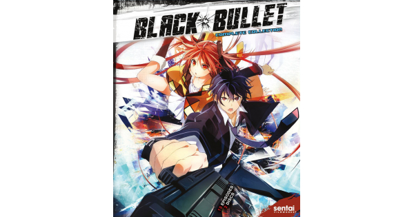 Black Bullet - Complete Season Collection Blu-Ray