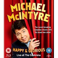Michael McIntyre - Happy & Glorious Blu-Ray