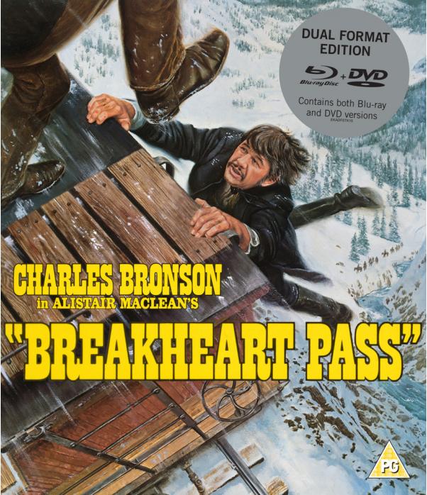 Breakheart Pass DVD + Blu-Ray