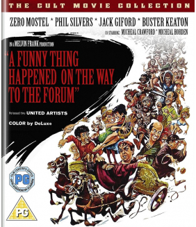 A Funny Thing Happened On The Way To The Forum Blu-Ray