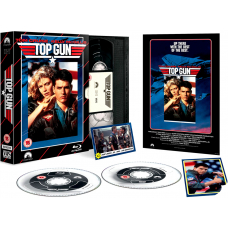 Top Gun - Limited Edition VHS Collection DVD + Blu-Ray
