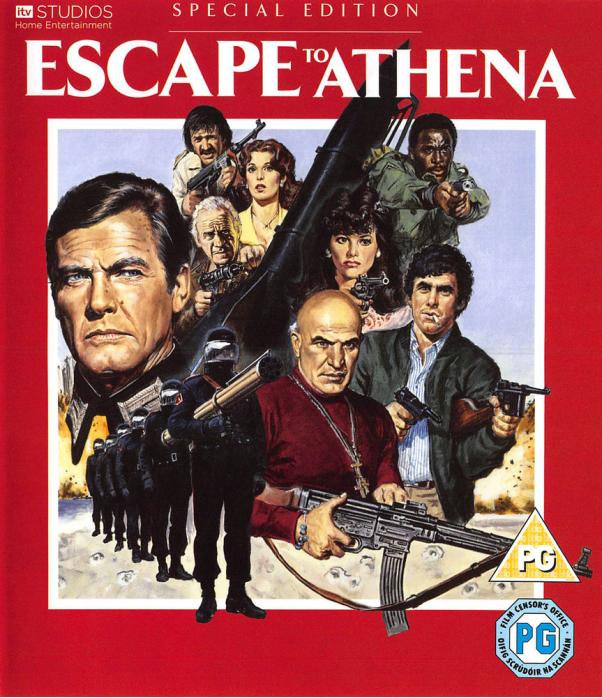 Escape To Athena Blu-Ray