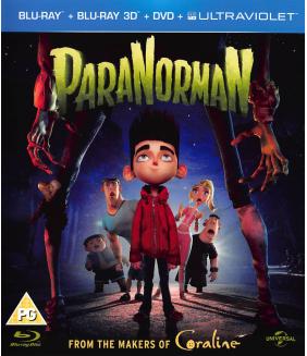ParaNorman 3D+2D Blu-Ray