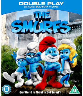 The Smurfs Blu-Ray + DVD