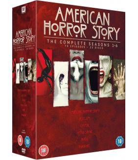 American Horror Story Seasons 1 to 6 DVD