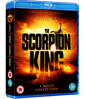 The Scorpion King 1 to 4 Complete Movie Quadrilogy (4 Films) Blu-Ray