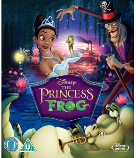 The Princess And The Frog Blu-Ray