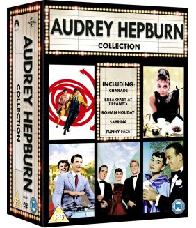 Audrey Hepburn - Charade / Breakfast At Tiffanys / Roman Holiday / Sabrina / Funny Face DVD