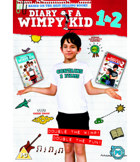 Diary Of A Wimpy Kid / Diary Of A Wimpy Kid 2 - Rodrick Rules DVD