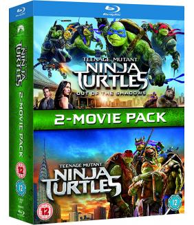 TMNT - Teenage Mutant Ninja Turtles / Teenage Mutant Ninja Turtles - Out Of The Shadows Blu-Ray