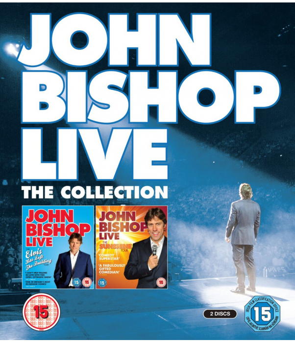 John Bishop - Live - The Elvis Has Left The Building Tour / The Sunshine Tour Blu-Ray