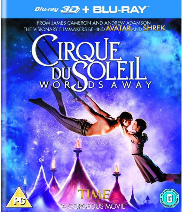 Cirque Du Soleil - Worlds Away 3D+2D Blu-Ray