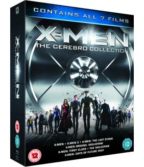 X-Men - The Cerebro Collection (7 Films) Blu-Ray