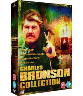 Charles Bronson - Ten To Midnight / Messenger Of Death / Murphys Law / Kinjite - Forbidden Subjects DVD