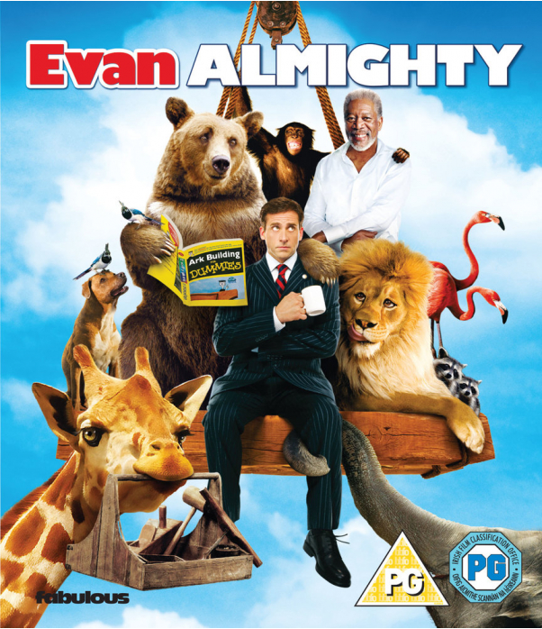 Evan Almighty Blu-Ray