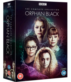 Orphan Black Series 1 to 5 Complete Collection DVD