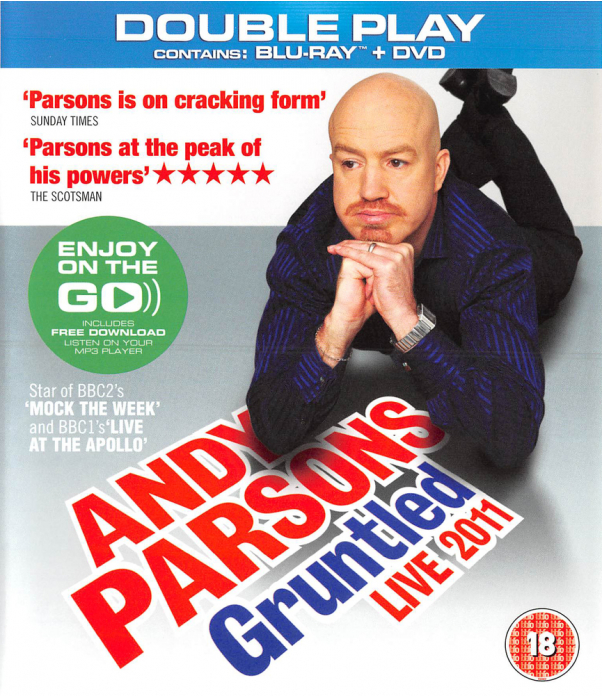 Andy Parsons - Gruntled Live Blu-Ray