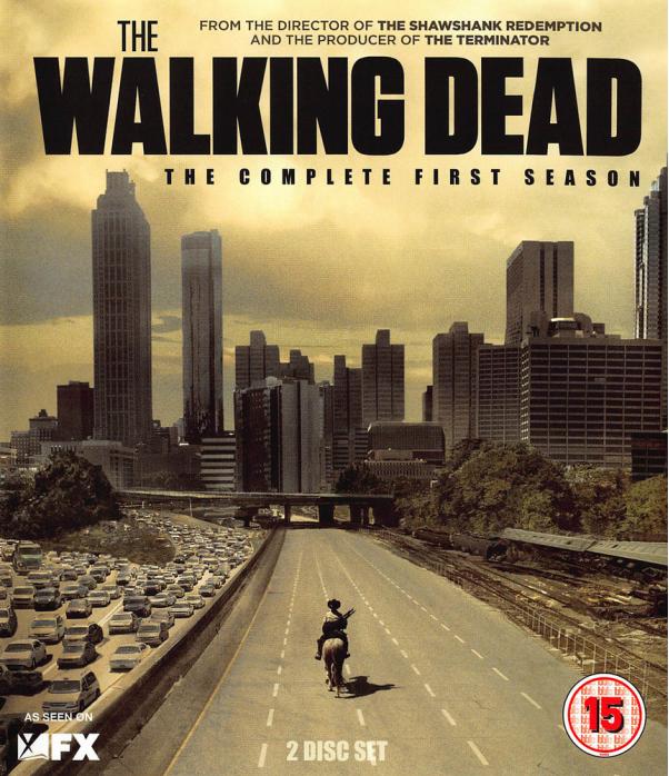 The Walking Dead Season 1 Blu-Ray