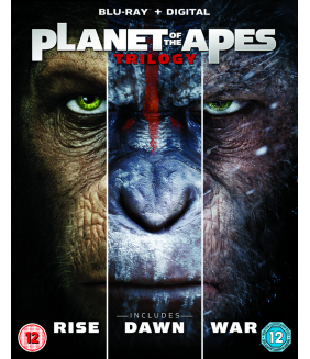 Planet Of The Apes - Trilogy (3 Films) Blu-Ray