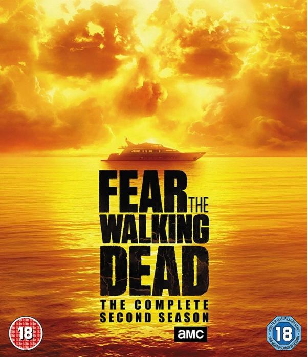 Fear The Walking Dead Season 2 Blu-Ray