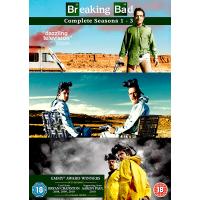Breaking Bad Seasons 1 to 3 DVD