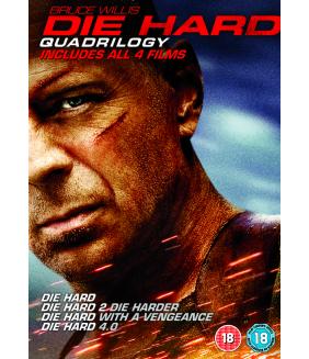 Die Hard - Quadrilogy (4 Films) DVD