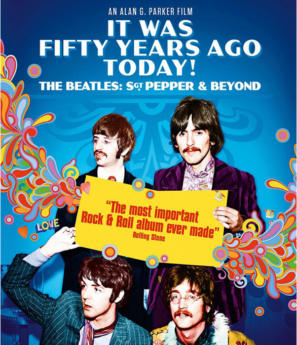 It Was 50 Years Ago Today The Beatles Sgt Pepper & Beyond Blu-Ray