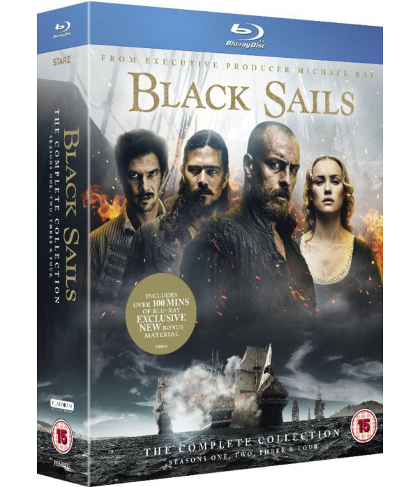 Black Sails Seasons 1 to 4 Blu-Ray