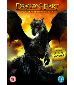 Dragonheart Quadrilogy (4 Films) Collection DVD