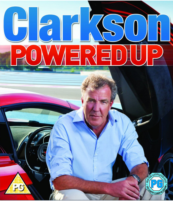Clarkson - Powered Up Blu-Ray
