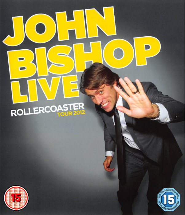 John Bishop - Live - Rollercoaster Tour Blu-Ray
