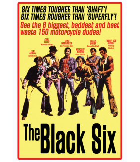 The Black Six DVD