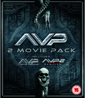 Alien vs Predator / Alien vs Predator 2 - Requiem Blu-Ray