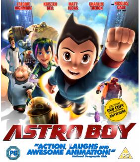 Astro Boy Blu-Ray + DVD