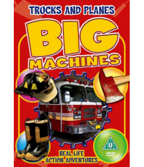 Big Machines - Trucks & Planes DVD