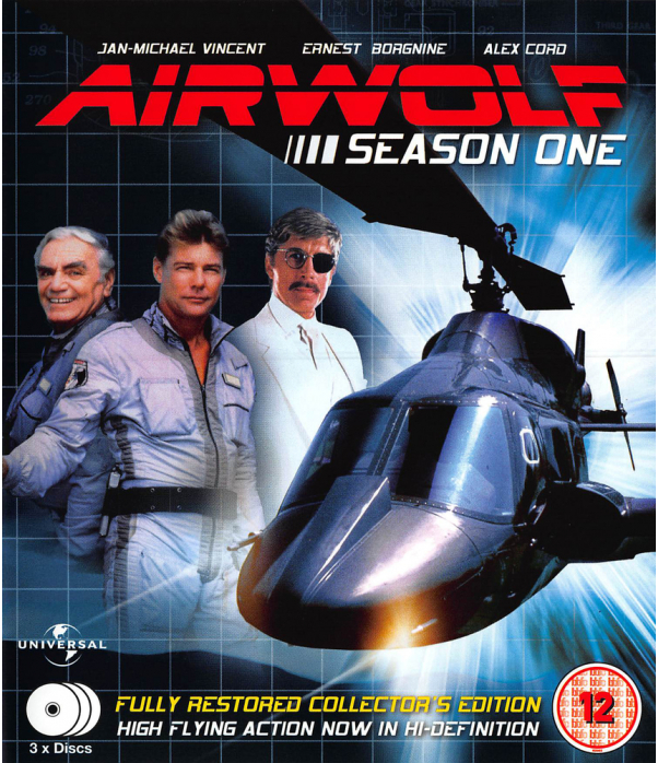 Airwolf Season 1 Blu-Ray