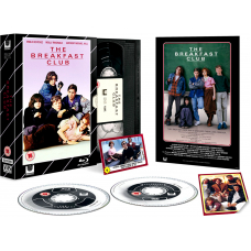 The Breakfast Club - Limited Edition VHS Collection DVD + Blu-Ray
