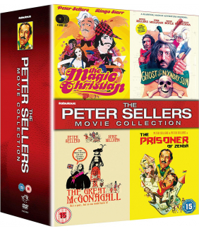 The Peter Sellers Collection (4 Films) DVD