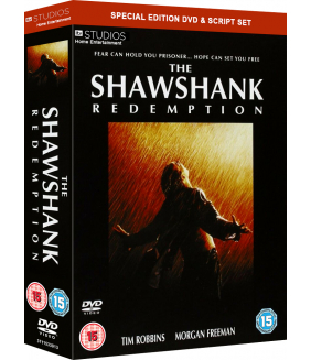 Stephen King - The Shawshank Redemption DVD Boxset + Script