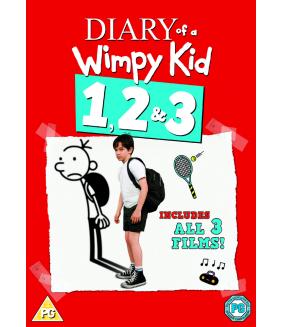 Diary Of A Wimpy Kid / Diary Of A Wimpy Kid 2 - Rodrick Rules / Diary Of A Wimpy Kid 3 - Dog Days DVD