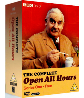 Open All Hours Series 1 to 4 Complete Collection DVD