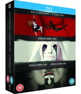 American Horror Story Seasons 1 to 3 Blu-Ray