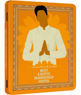 The Best Exotic Marigold Hotel Steelbook Blu-Ray