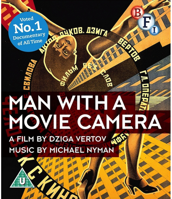 Man With A Movie Camera Blu-Ray