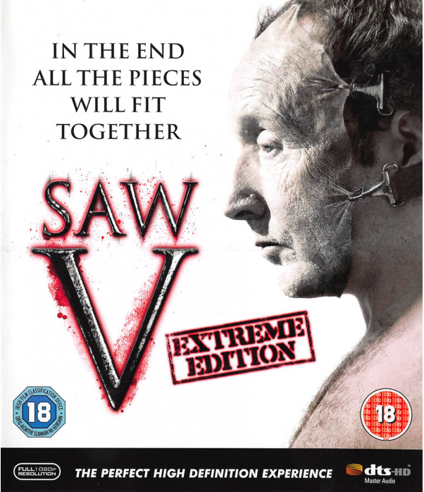 Saw V - Extreme Edition Blu-Ray