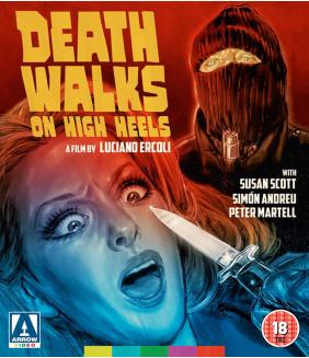 Death Walks On High Heels Blu-Ray